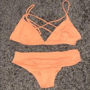 San Lorenzo Peach Bikini